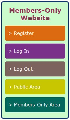 Registration and Authentication - Create a Members Only Website